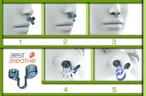 Uso del Dilatador nasal Best Breathe