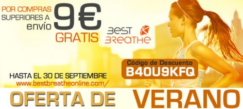 oferta  best breathe