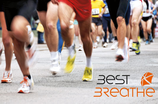 consejor best breathe para una maraton