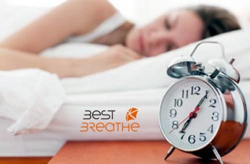 Respirar bien es dormir mejor