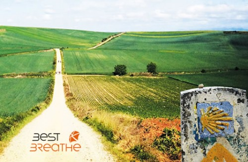 noticia best breathe camino de santiago